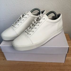 Vince Front Lace Belford Leather Sneakers